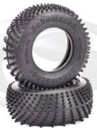 U6800 - 1:10 Schumacher Short Course Spiral Reifen - Silber, 2 Stk