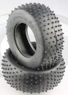 U6773 - 1:10 Schumacher Mini Spike - silber - Short Course Reifen, 2 Stk