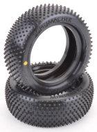 """U6821 - 1:10 Schumacher Minispin - 4WD Frontreifen 2.2"""", gelb, 2 Stk"""