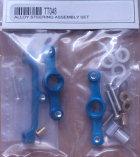 TT048 - Lenkungsset, Alu, blau eloxiert, 2 Stk