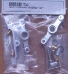 TT048 - Lenkungsset, Alu, silber eloxiert, 2 Stk