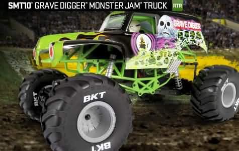 AX90055 - SMT10™ Grave Digger Monster Jam Truck
